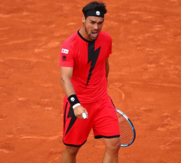 лидер итальянского тенниса Фабио Фоньини