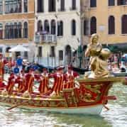 98466e07583e Венеция  на Гранд Канале прошла эпохальная регата в честь королевы Катерины  Корнаро