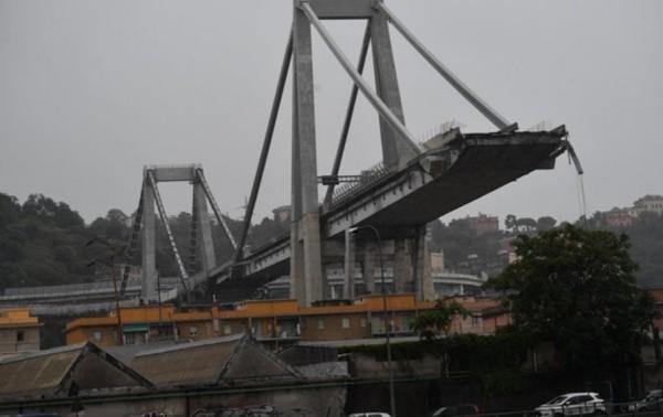 Похороны жертв моста близ города Генуя начнутся 18 августа