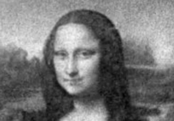 �тальянские ученые бактериями воссоздали портрет Моны Лизы