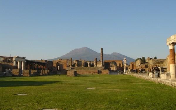 Древнего города Помпеи, Неаполь, Италия