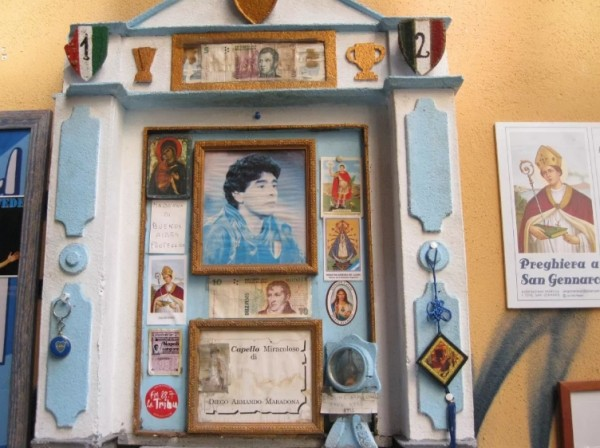 Диего Армандо Марадона прожил здесь семь лет, приехав в Неаполь летом 1984