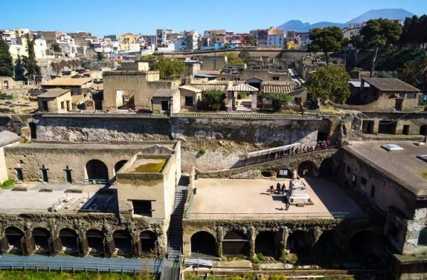 Древнего города Геркуланум, Неаполь, Италия