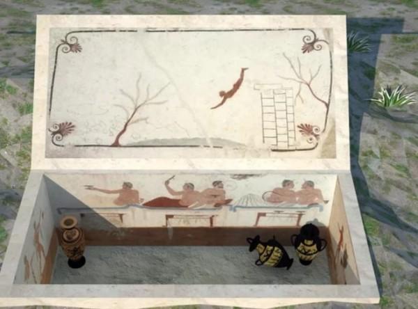 название гробницы « Гробница ныряльщика»