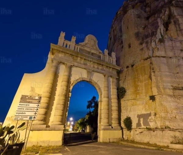 Когда-то давно город Террачина был место окончания Аппиевого пути