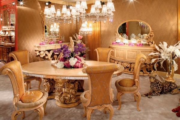 Итальянский гарнитур способен стать настоящим украшением дизайна в вашем доме