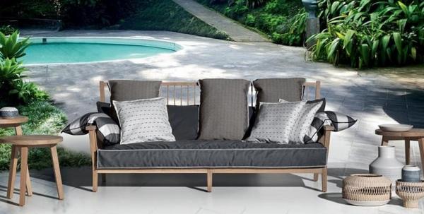 итальянская садовая мебель от Gervasoni