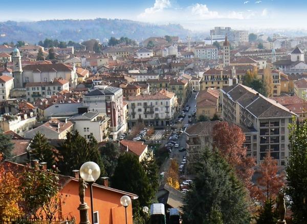 Город Бьелла, в итальянском регионе Пьемонт