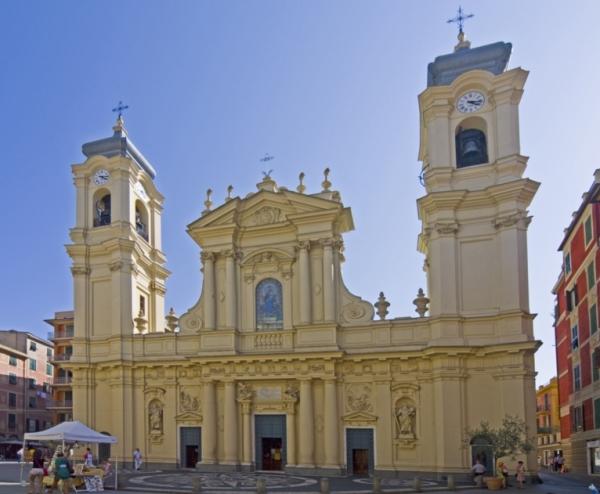 В город Санта-Маргарита-Лигуре находится церковь святой Маргариты Антиохийской