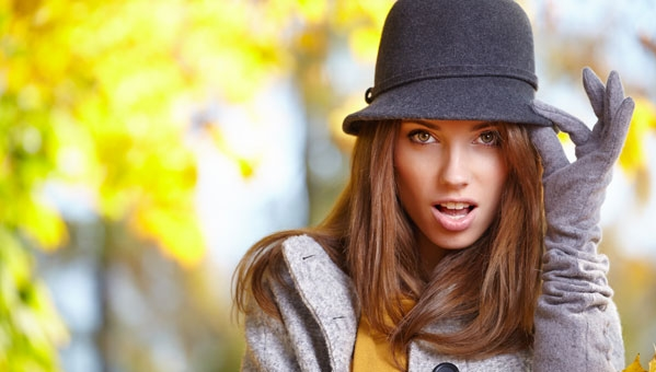 осенне-зимние женские шляпы
