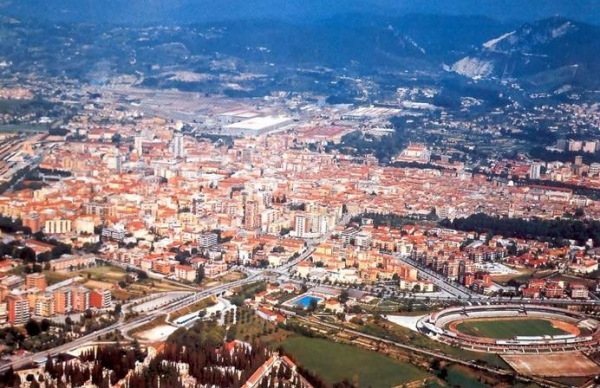 Город Терни, в итальянском регионе Умбрия