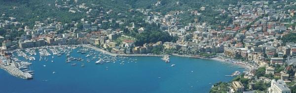 Город Санта-Маргарита-Лигуре, в итальянской провинции Генуя