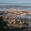 Город Триест в итальянском регионе Фриули-Венеция-Джулия