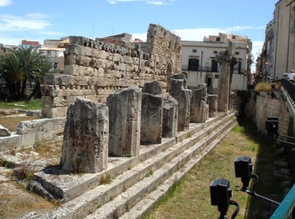 Город Сиракузы, храмы Аполлона