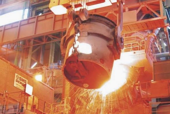 Терни, Умбрия - перерабатка железной руды