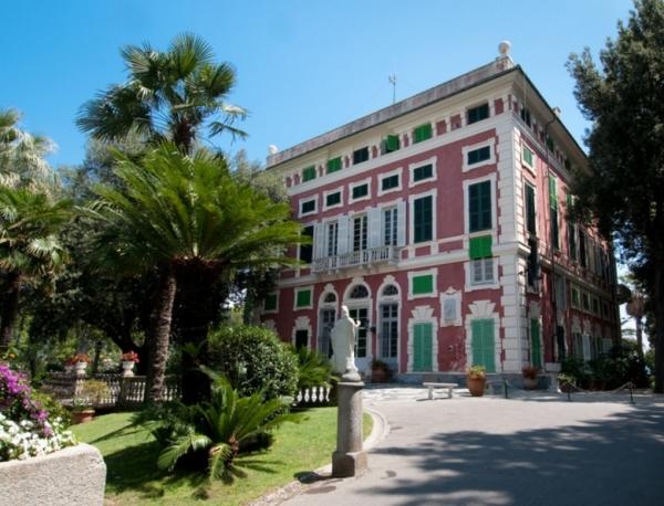 На территории Виллы Дураццо есть Музей Витторио