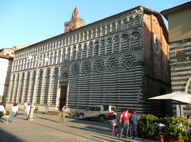 Город Пистоя - Церковь Сан-Джовани