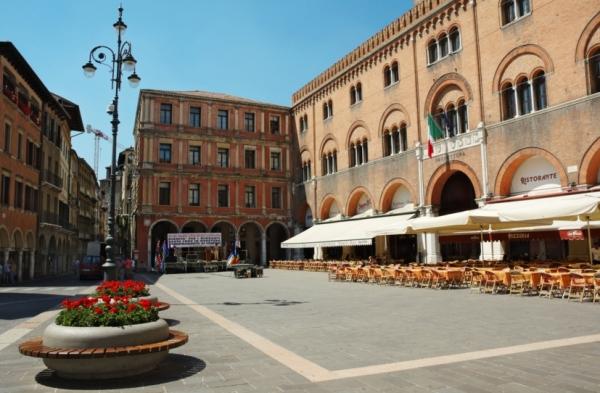 Город Тревизо, в итальянском регионе Венето