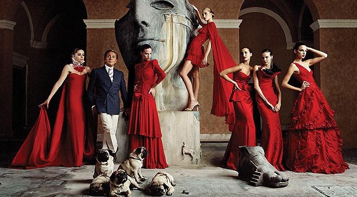Валентино — один из наиболее влиятельных мировых дизайнеров