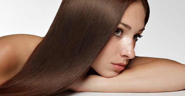 женская прическа - Прямые волосы