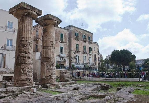 На месте Таранто была образована римская колония Нептуния