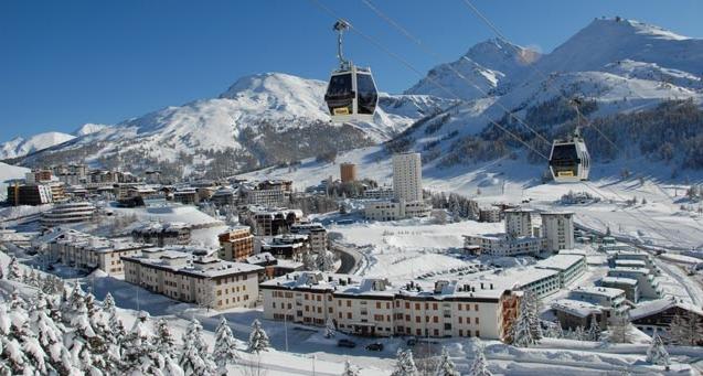 Сестриере становиться едва ли не самым популярным горнолыжным курортом в Европе