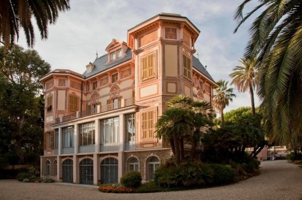 Курортный город Сан-Ремо, загляните на усадьбу Нобеля