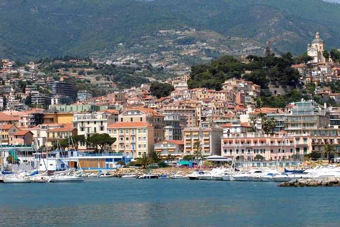 Курортный город Сан-Ремо, в итальянском регионе Лигурия