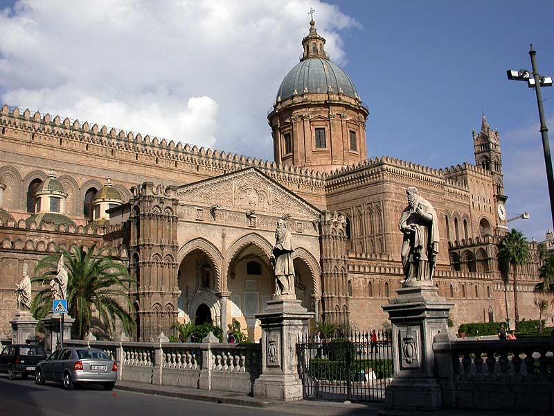 Палермо - Знаменитые церкви и соборы города