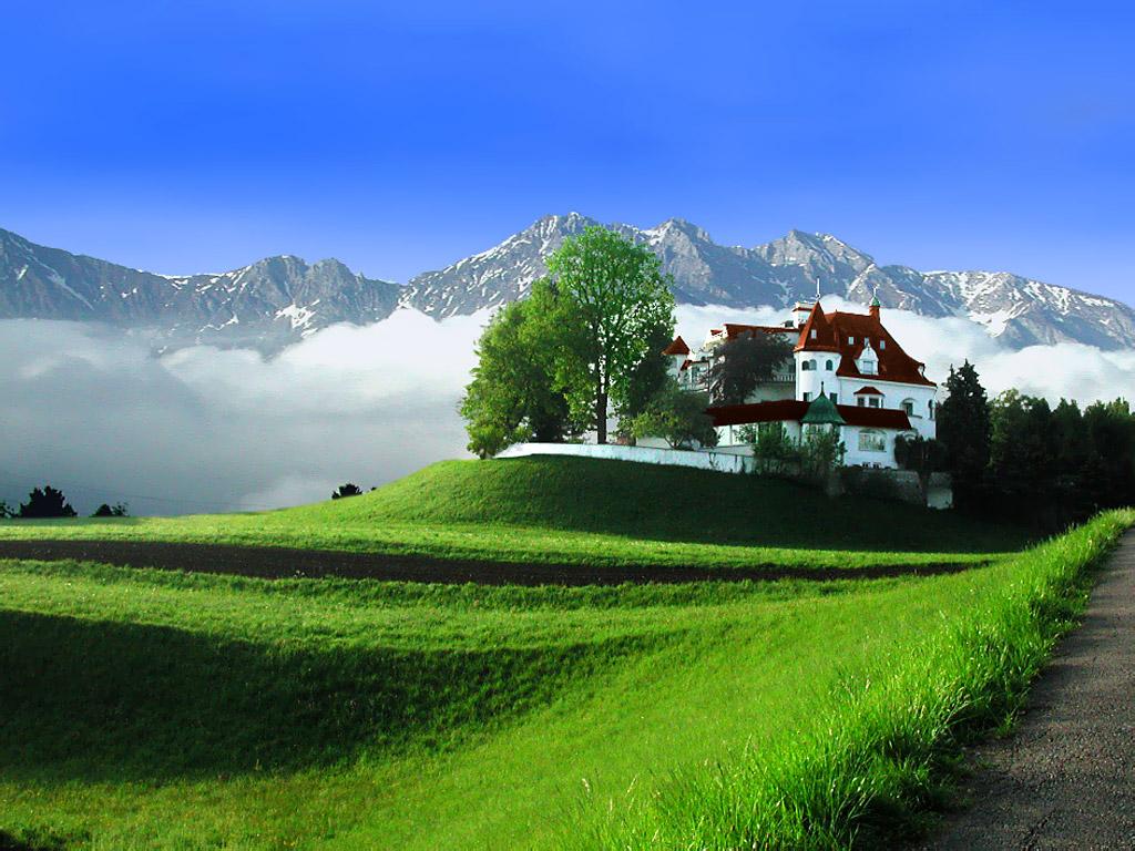 Там старинные замки, национальные парки, архитектурные изыски прошлых столетий