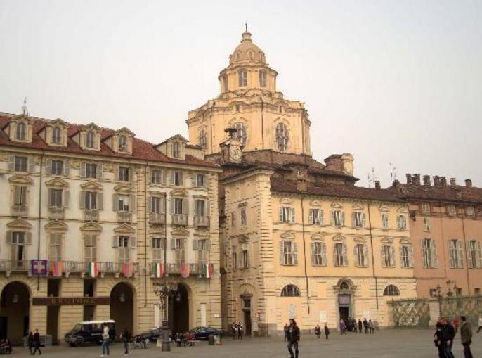 Важная для достижений мировой архитектуры в стиле барокко — церковь Сан-Лоренцо, Турин