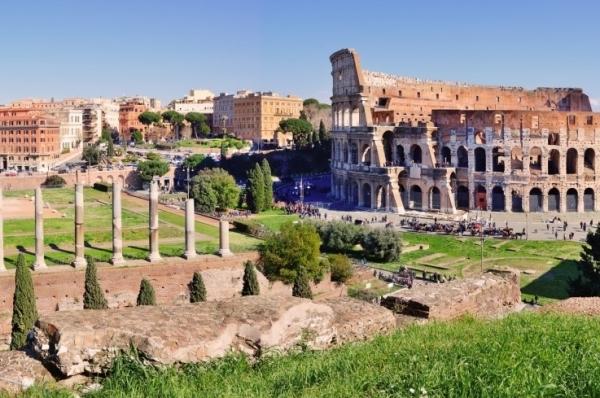 посетите Римский форум и Палатинский холм