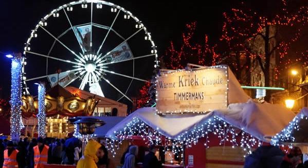Ярмарок в канун Рождества - Бельгия, Брюссель