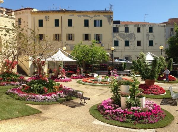 Город Сассари, в итальянском регионе Сардиния