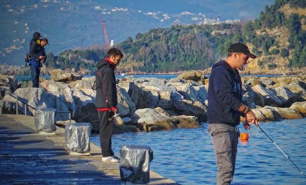 Ловля рыбы в Италии не сильно развита