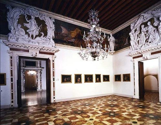 Так в галереи Палаццо-Леони-Монтанари находятся картины 18 века и более 400 старинных икон