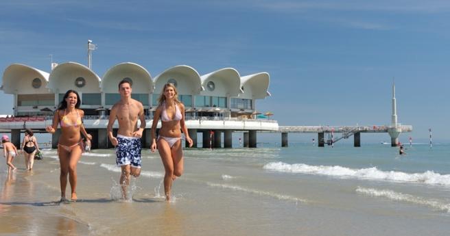 Курорт Адриатики. Известные места Линьяно Саббьядоро