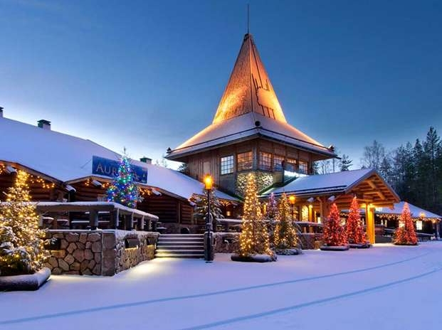 Ярмарок в канун Рождества - Финляндия, Рованиеми