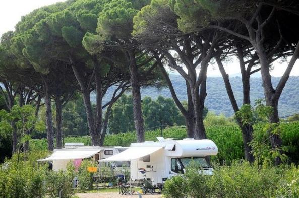 Кемпинг в Podere il Casale, Тоскана