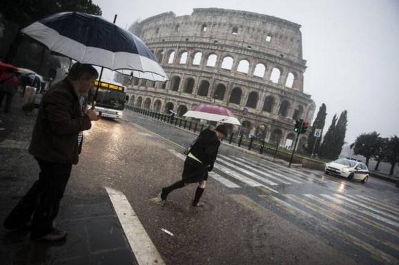 Дожди в Италии бывают редко, в основном, в зимнее время года