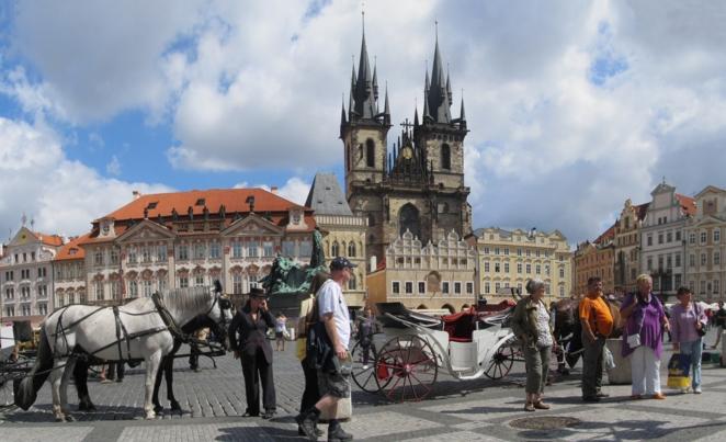Староместская площадь - достопримечательностей Праги