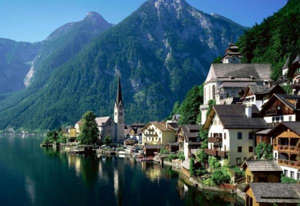 Не передать словами красоты австрийского озерного края «Зальцкаммергут»