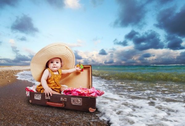 Запланировали отпуск с ребёнком?! Тщательно подойдите к сборам чемодана