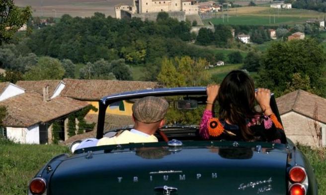 Италия из окна авто