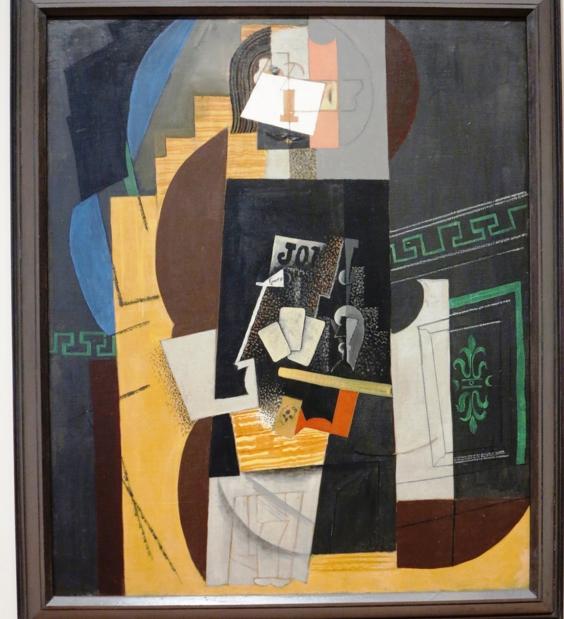 Пабло Пикассо, «Картежник»