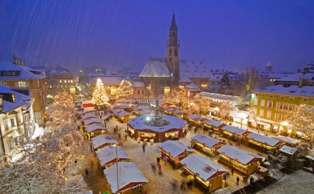 Ярмарок в канун Рождества - Италия, Больцано