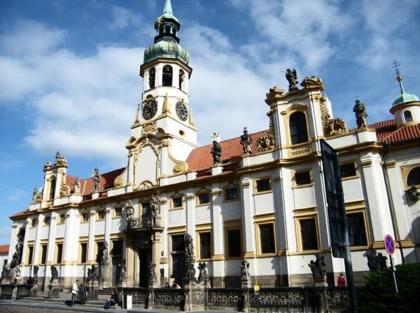 Пражская Лоретта - достопримечательностей Праги