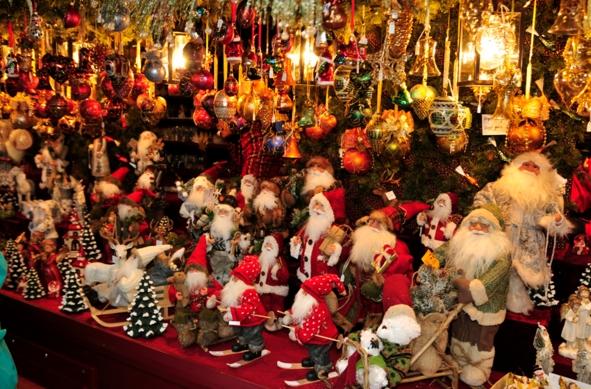 Открытие европейских ярмарок в канун Рождества