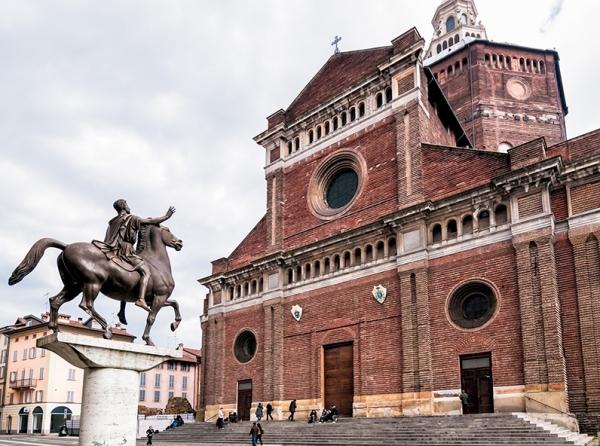 Город Павия, в итальянском регионе Ломбардия