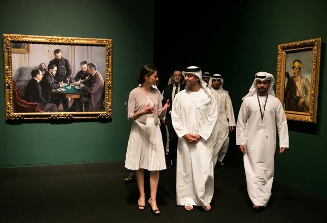 Открытие Лувра в Абу-Даби (ОАЭ) осенью 2016